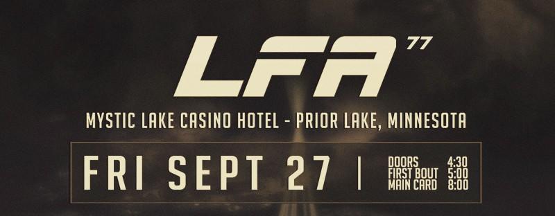 LFA 77: Prior Lake, MN – 09/27